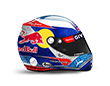 Capacete Formula 1 2016 - Verstappen