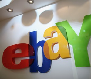 Logo do eBay em Londres (Foto: Dan Kitwood/Getty Images)