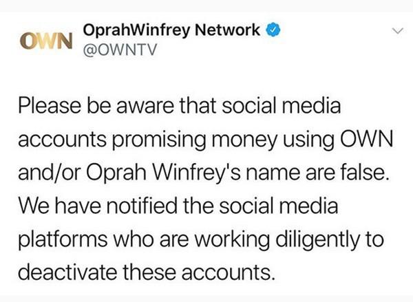 Oprah WInfrey (Foto: Instagram)