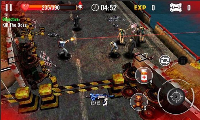 Game de zumbis para Android se destaca por ser leve e offline! (Foto: Reprodução / Words Mobile)