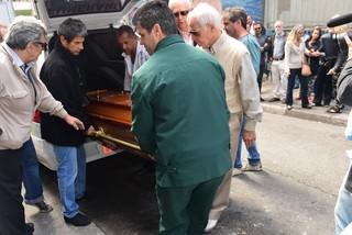 Velório Umberto Magnani (Foto: Leo Franco/ Ag. News)