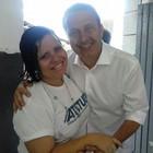 Campos emocionou na última agenda (Kátia Reneide/Acervo Pessoal)