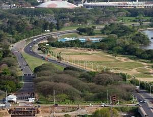 Obras complicam trânsito em Porto Alegre (Foto: Francielle Caetano/PMPA)