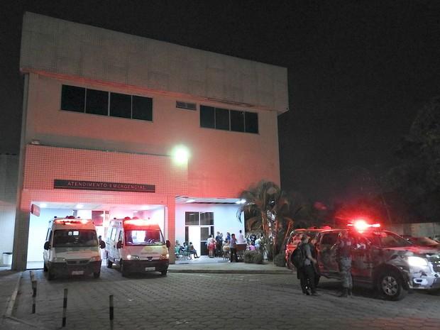 Tentativa de assalto ocorreu por volta das 16h no HPS João Lúcio (Foto: Indiara Bessa/G1 AM)
