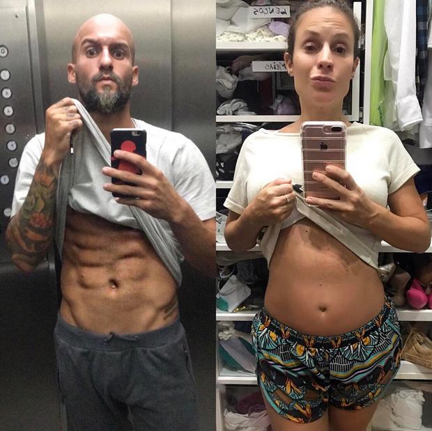 Renato Antunes e Maíra Charken (Foto: Reprodução/Instagram)