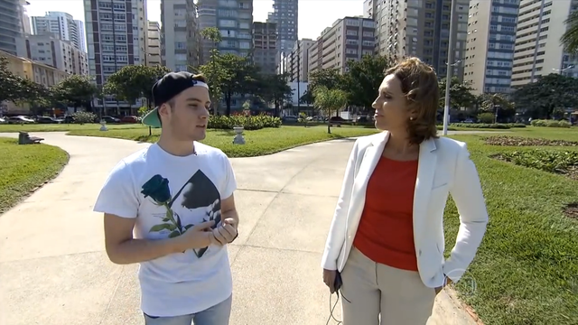 Guilherme Doretto e Rosana Valle (Foto: Reprodução/TV Globo)
