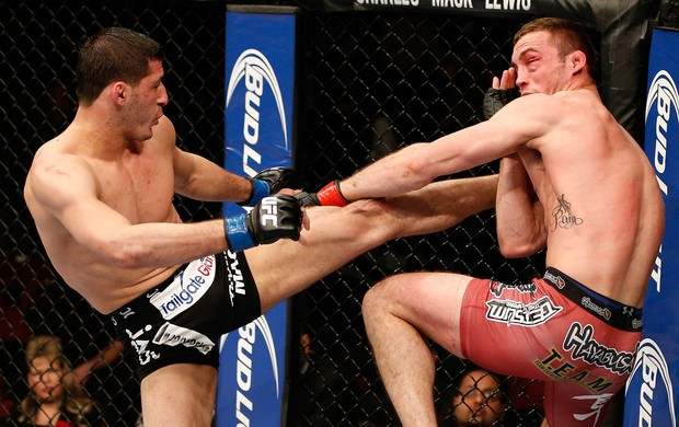 Tony Martin x Rashid Magomedov UFC 169 (Foto: Getty Images)