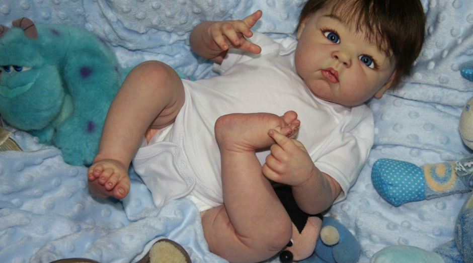 54e951508 O bebê Guilherme é uma das criações da artista Bia Sousa (Foto  Divulgação)