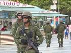 Mais de 10 mil militares e policiais reforçam segurança no Rio de Janeiro