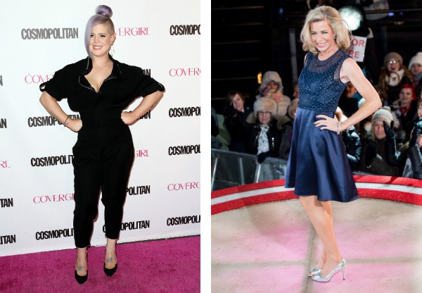 As celebridades Kelly Osbourne e Katie Hopkins (Foto: Getty Images)