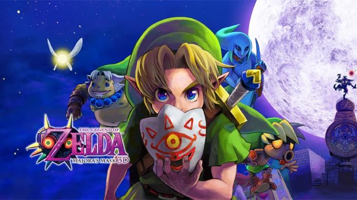the legend of zelda majora s mask 3d é anunciado para o nintendo