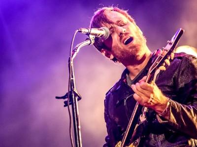 A banda Black Keys se apresenta no segundo dia de Lollapalooza (Foto: Raul Zito/G1)