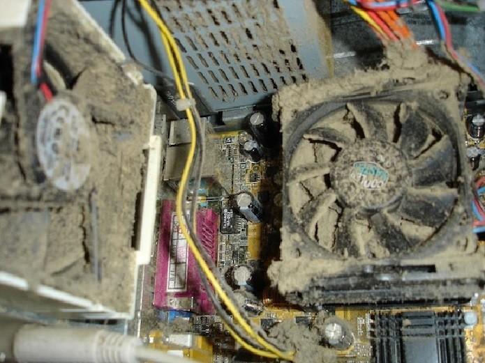 Sujeira pode ser o pior inimigo do seu computador (Foto: Reprodução/Computer Cleaning USA)