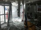 Grupo explode caixas eletrônicos e arromba lojas em Gameleira, Mata Sul