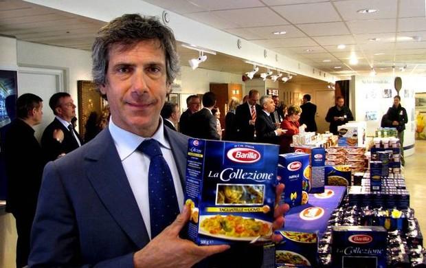Paolo Barilla assumiu os negócios da família (Foto: Reprodução/Facebook)