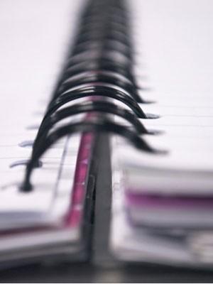 Caderno ou fichário? A escolha depende da sua organização (Foto: Divulgação)