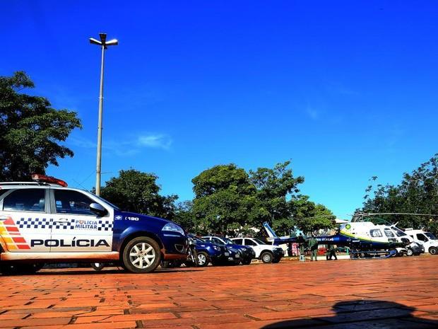 Operação lançada na sexta-feira (10) durou 24 horas em todo o estado (Foto: Lenine Martins/Sesp-MT)