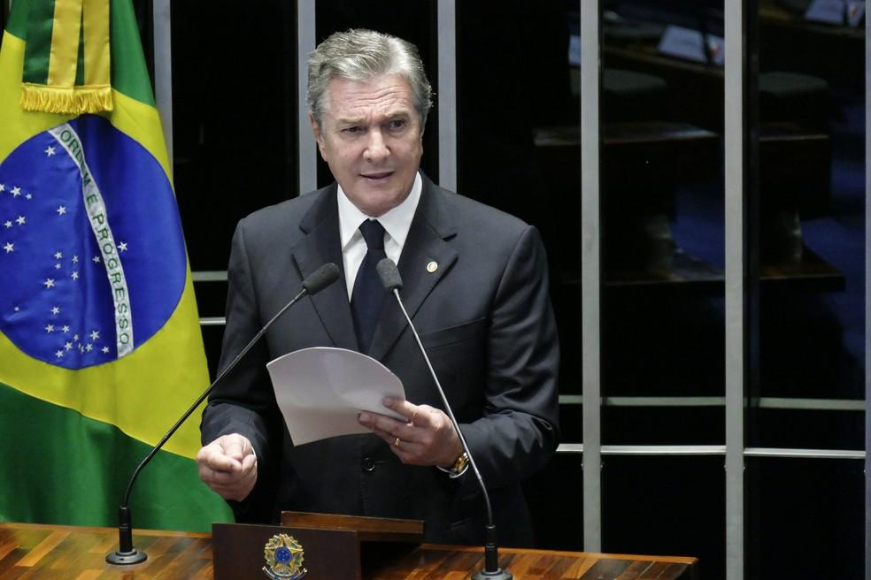 O senador Fernando Collor de Mello (PTC-AL) (Foto: Roque de Sá/Agência Senado)