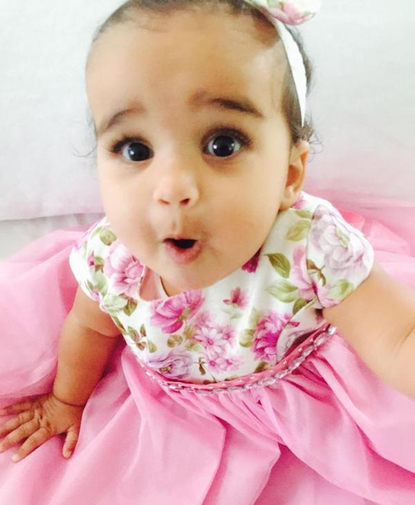 A filha de Rob Kardashian e Blac Chyna (Foto: Instagram)
