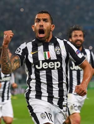 Tévez Juventus Real Madrid (Foto: Getty Images)