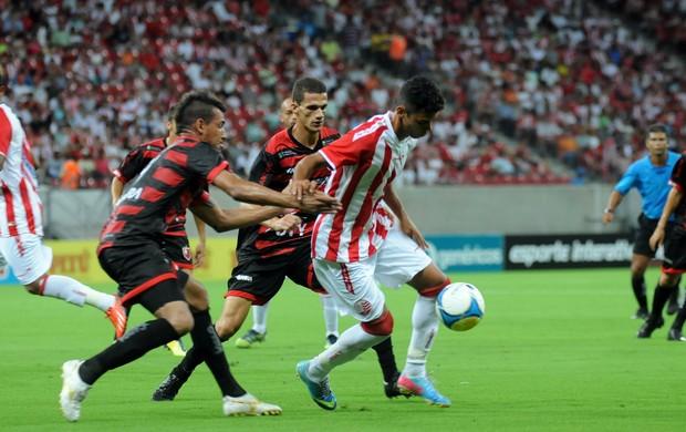 náutico x guarany-ce (Foto: Aldo Carneiro / Pernambuco Press)