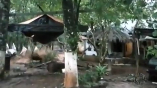 Copel vai indenizar quem teve a casa levada pelas águas da usina (Foto: Reprodução)