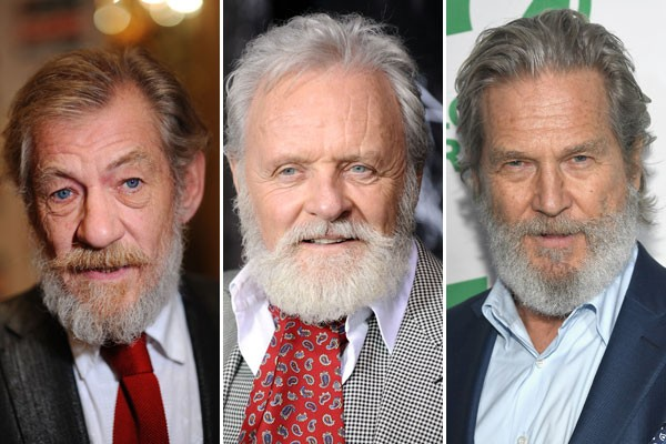 Ian McKellen, Anthony Hopkings e Jeff Bridges seriam ótimos intérpretes de Papai Noel, por exemplo (Foto: Getty Images)