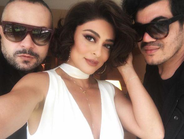 Juliana Paes com Juliano e Zuel (Foto: Reprodução/ Instagram)