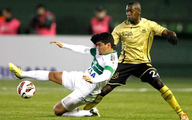 Coritiba e Itaguí Copa Sul-Americana (Foto: Agência Reuters)