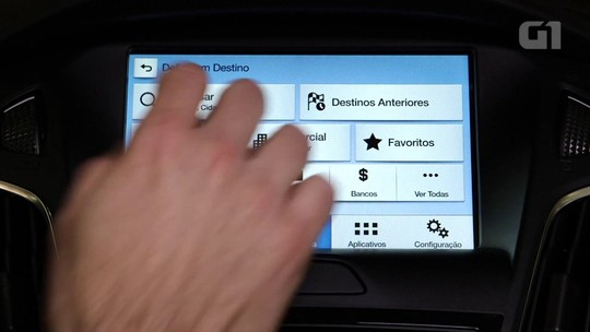 Ford Focus: G1 avalia central multimídia