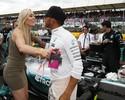 Spice Girls e beijinho de Vonn em Hamilton: os famosos em Silverstone