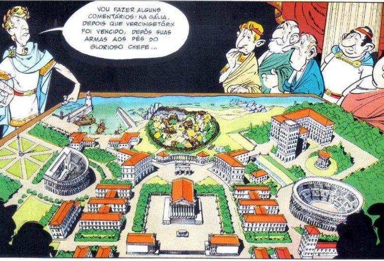 (Foto: Reprodução / Asterix e o Domínio dos Deuses)
