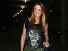 Ticiane Pinheiro vai a show de Beyoncé mas não cruza com ex