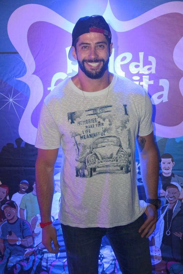 Marcelo Zagonel no Baile da Favorita (Foto: Reginaldo Teixeira/Divulgação)