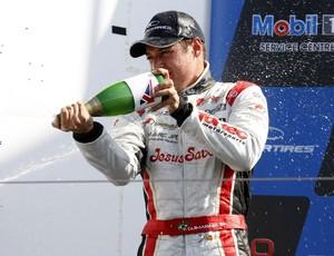 Felipe Guimarães comemora vitória na Fórmula 3 Inglesa em Brands Hatch (Foto: Divulgação)