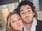 Alexandre Pato posa com Fiorella Mattheis: 'Que comecem as férias'