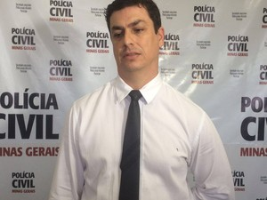 Sandro Negrão, delegado da Polícia Civil em Araxá (Foto: Willian Tardeli/PC/Divulgação)