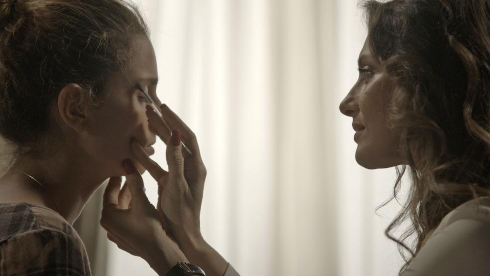 Parece que mãe e filha finalmente estão se entendendo 😍😍😍 (Foto: TV Globo)