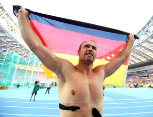 robert harting atletismo moscou (Foto: Getty Images)