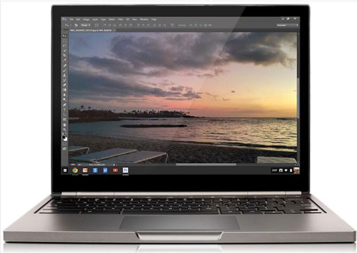 Adobe Photoshop CC 2014 rodando no Chromebook (Foto: Divulgação)