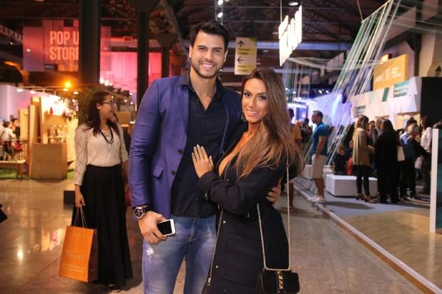 Nicole Bahls e Marcelo Bimbi (Foto: Daniel Pinheiro /AgNews)