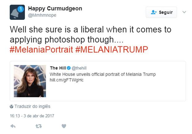 Melania Trump (Foto: Reprodução)