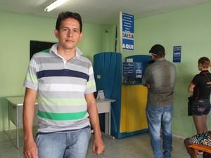 Coordenador do Banco dos Cocais, Mauro Rodrigues, fala dos bons resultados (Foto: Catarina Costa/G1 PI)