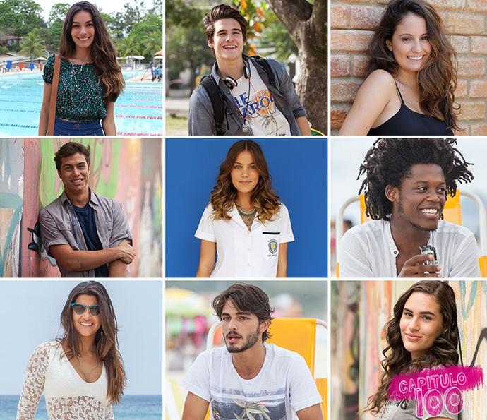 Elenco de 'Malhação - Seu Lugar no Mundo' lista mudanças desde o início da temporada (Foto: TV Globo)