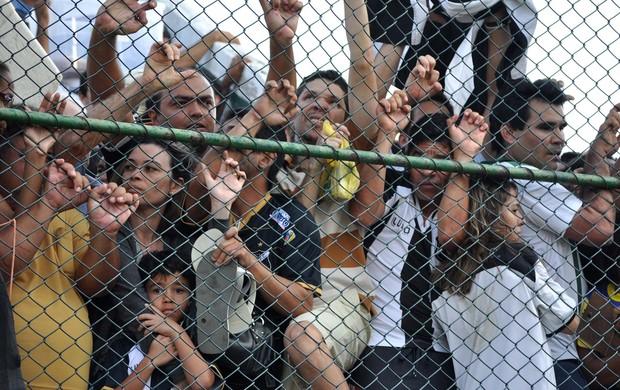 tumulto torcedores ABC x Palmeiras (Foto: Frankie Marcone / Futura Press)