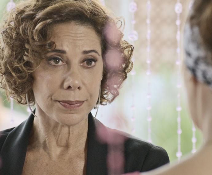 Clarice acerta contas com a rival (Foto: Tv Globo)