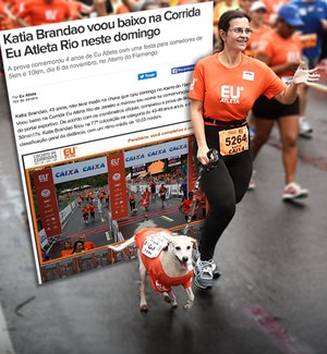 Euatleta Jornalzinho Corrida_Katia Brandao (Foto: Eu Atleta | Arte | foto André Durão)