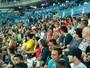 Zac Efron assiste prova de atletismo  da Olimpíada Rio 2016