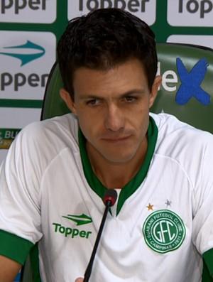 Mauricio Barbieri técnico Guarani (Foto: Vaner Santos / EPTV)