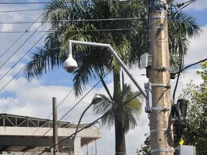 Câmeras de segurança vão reforçar segurança durante carnaval em araxa (Foto: PMA/Divulgação)